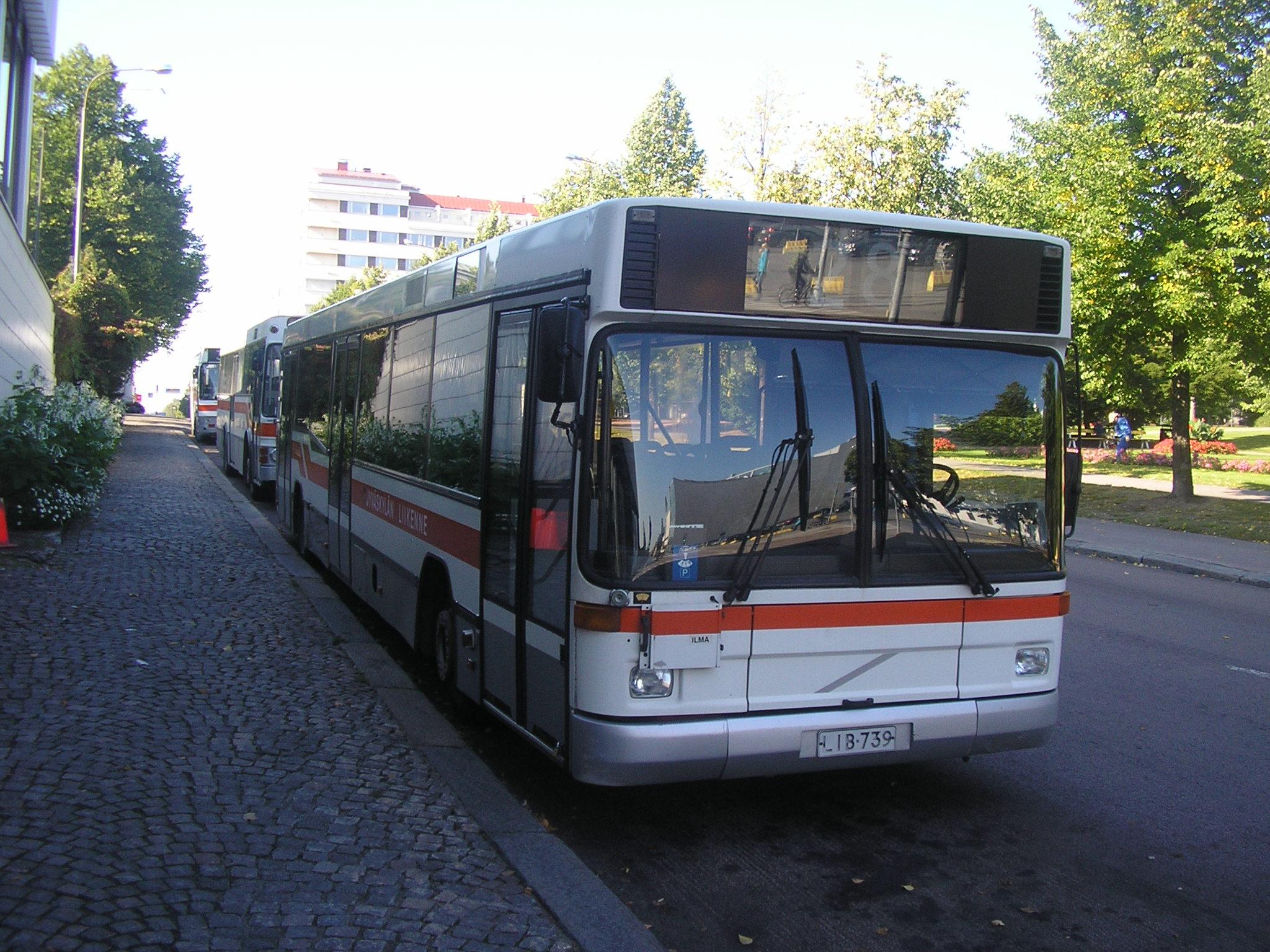 Jyväskylän Liikenne bussi